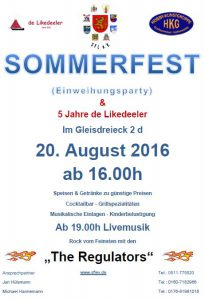 Sommerfest SFL 2016